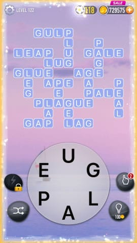 Word Crossy Level 122 Answers