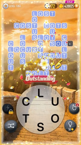 Word Crossy Level 1263 Answers