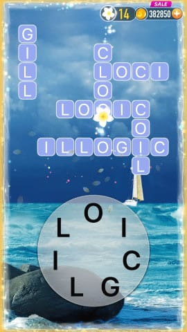 Word Crossy Level 1289 Answers