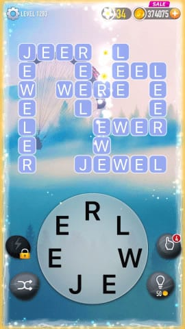 Word Crossy Level 1293 Answers