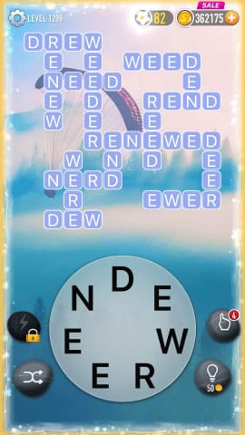 Word Crossy Level 1298 Answers