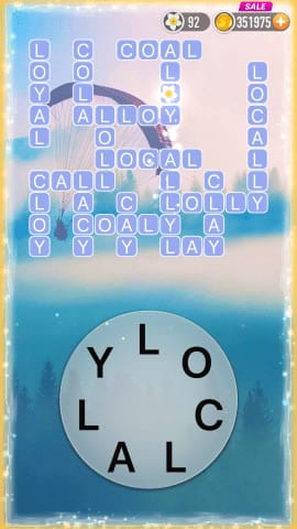 Word Crossy Level 1302 Answers