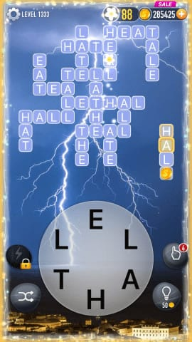 Word Crossy Level 1333 Answers