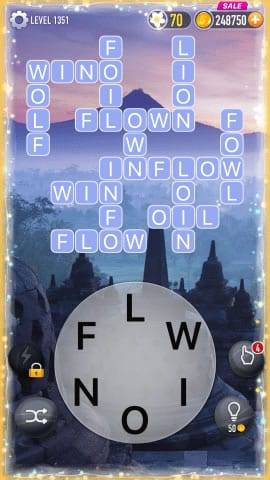 Word Crossy Level 1351 Answers