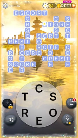 Word Crossy Level 1364 Answers
