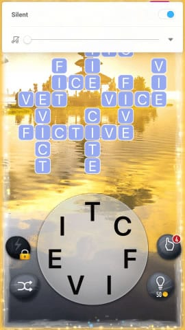 Word Crossy Level 1375 Answers