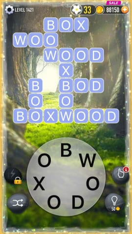Word Crossy Level 1421 Answers