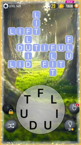 Word Crossy Level 1429 Answers