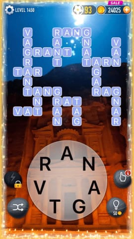Word Crossy Level 1450 Answers
