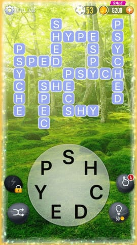 Word Crossy Level 1458 Answers