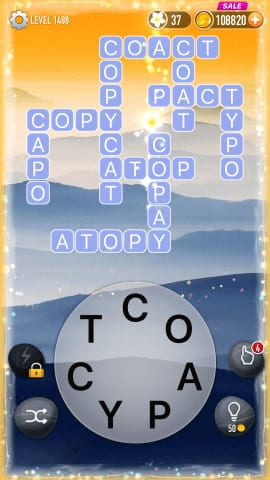 Word Crossy Level 1498 Answers