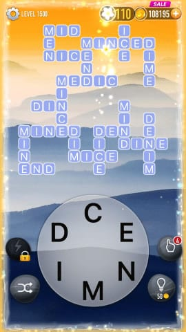 Word Crossy Level 1500 Answers