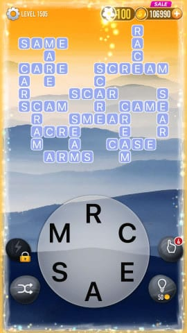 Word Crossy Level 1505 Answers