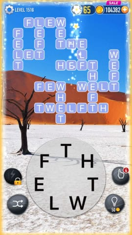 Word Crossy Level 1516 Answers