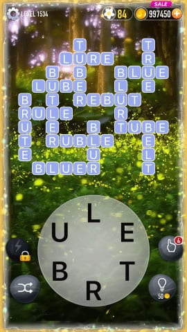 Word Crossy Level 1534 Answers