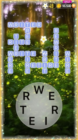 Word Crossy Level 1540 Answers