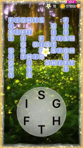 Word Crossy Level 1541 Answers