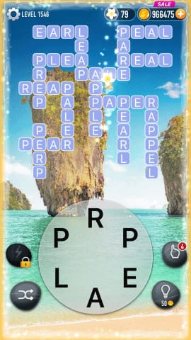 Word Crossy Level 1546 Answers
