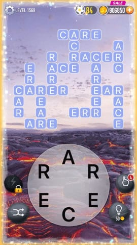 Word Crossy Level 1569 Answers