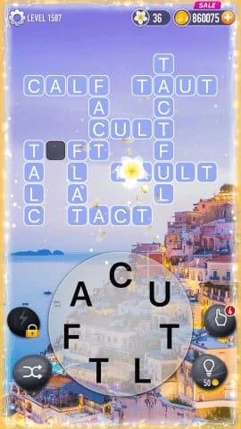 Word Crossy Level 1587 Answers