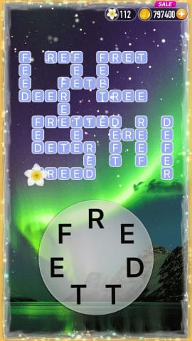 Word Crossy Level 1612 Answers