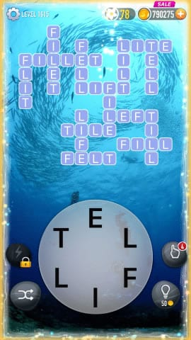 Word Crossy Level 1615 Answers