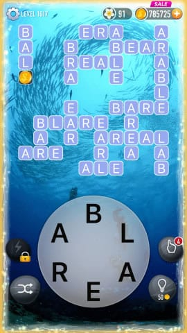 Word Crossy Level 1617 Answers