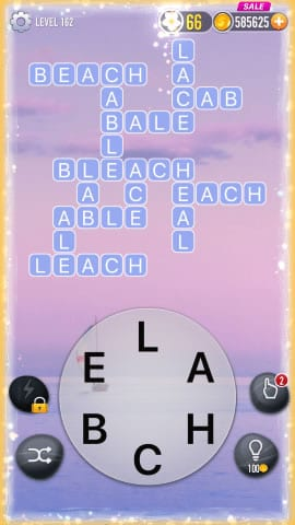 Word Crossy Level 162 Answers