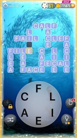 Word Crossy Level 1621 Answers