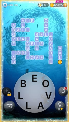 Word Crossy Level 1628 Answers