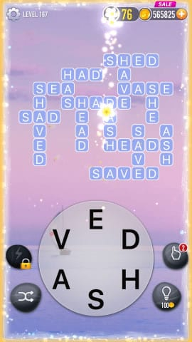 Word Crossy Level 167 Answers
