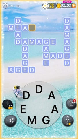 Word Crossy Level 1714 Answers