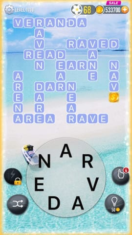 Word Crossy Level 1718 Answers