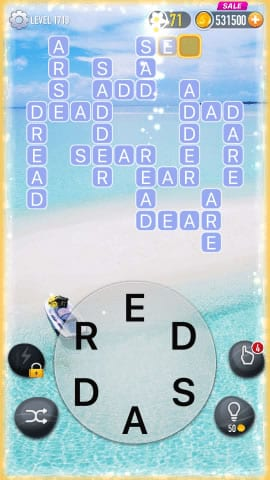 Word Crossy Level 1719 Answers