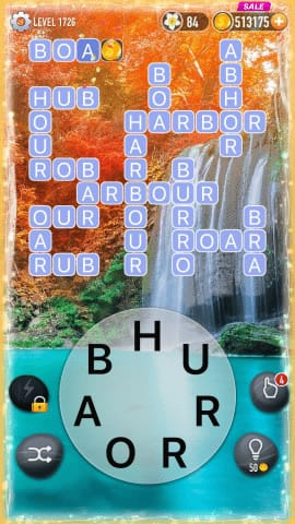 Word Crossy Level 1726 Answers