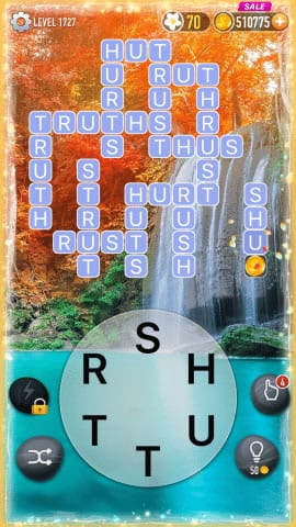 Word Crossy Level 1727 Answers