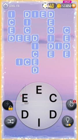 Word Crossy Level 176 Answers