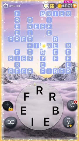 Word Crossy Level 1760 Answers