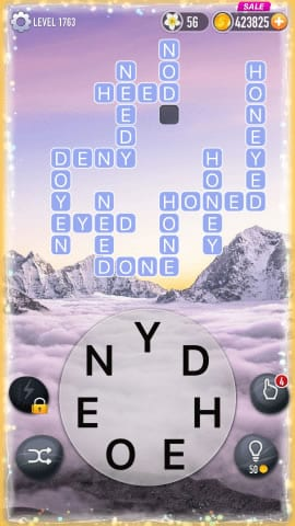 Word Crossy Level 1763 Answers