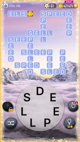 Word Crossy Level 1764 Answers