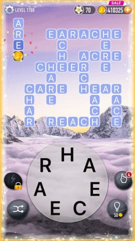 Word Crossy Level 1768 Answers