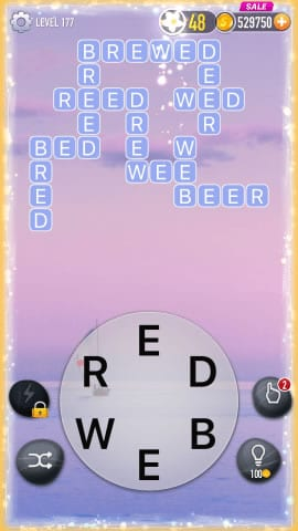 Word Crossy Level 177 Answers