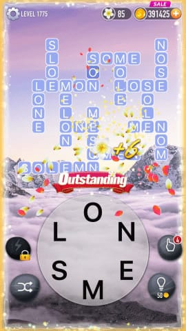 Word Crossy Level 1775 Answers