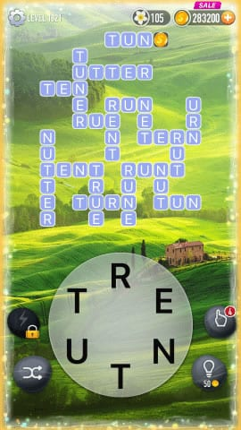 Word Crossy Level 1821 Answers