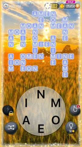 Word Crossy Level 1855 Answers