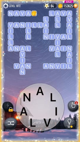 Word Crossy Level 1872 Answers