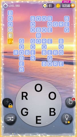 Word Crossy Level 1893 Answers