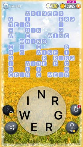Word Crossy Level 1924 Answers