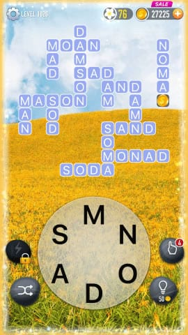 Word Crossy Level 1926 Answers