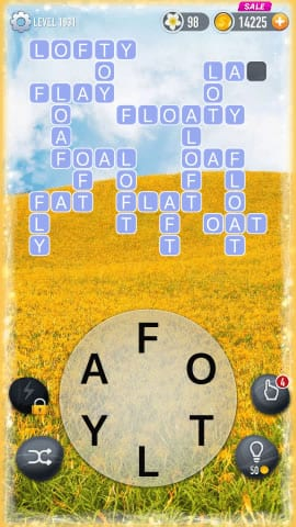 Word Crossy Level 1931 Answers